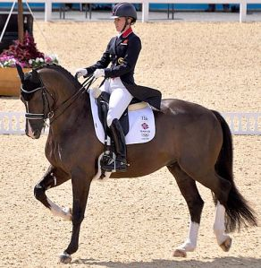 Nothing wrong with ambition, though - who *doesn't* want to ride like Charlotte Dujardin? (Photo credit: Wikimedia Commons)