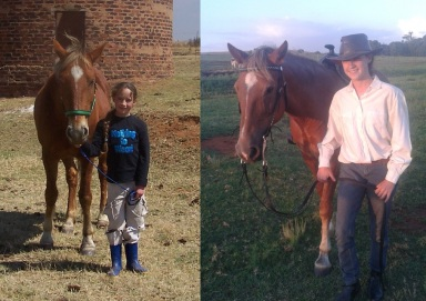 Skye and I: first in 2006, then in 2014